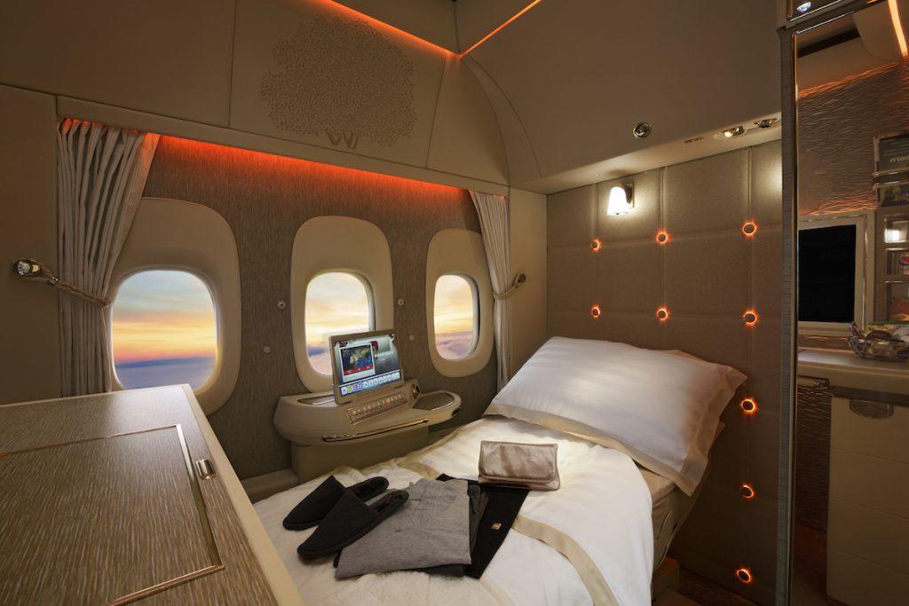 Emirates Primera Clase