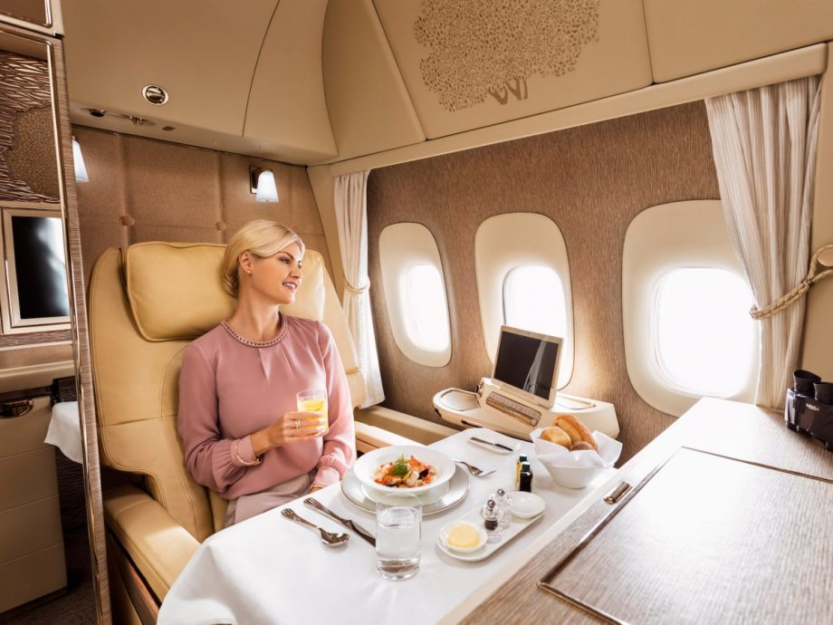 Así son las nuevas suites de primera clase de Emirates