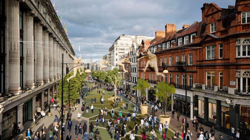 Oxford Street se peatonalizará en 2018